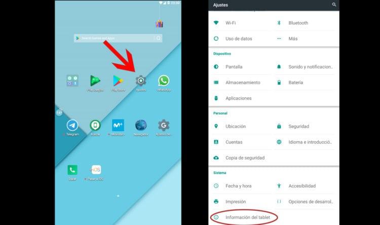 como actualizar android a la última versión disponible
