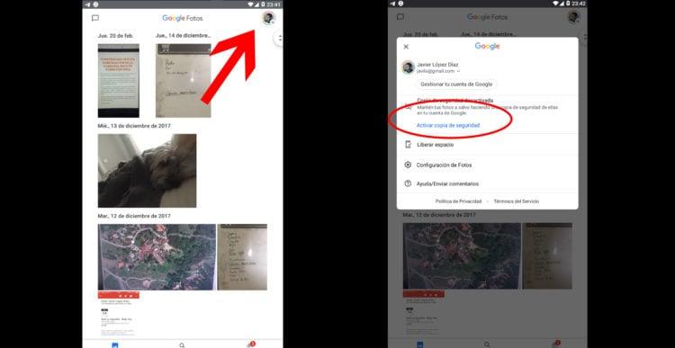 localizar un móvil con google fotos