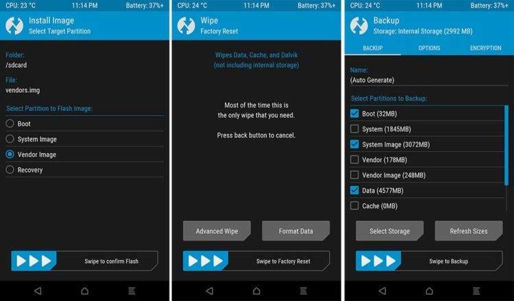 app twrp para Android