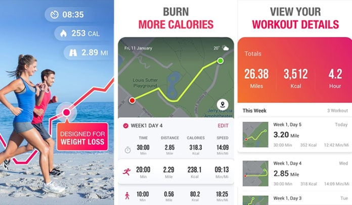aplicaciones de running