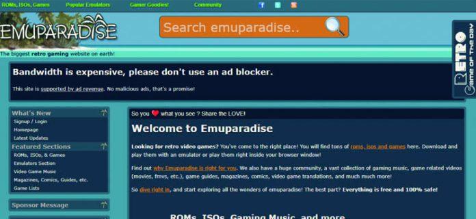mejores sitios web para descargar retro roms Android