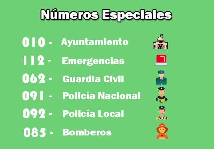 números especiales de España